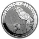 2016 Australia 10 oz Silver Kookaburra BU