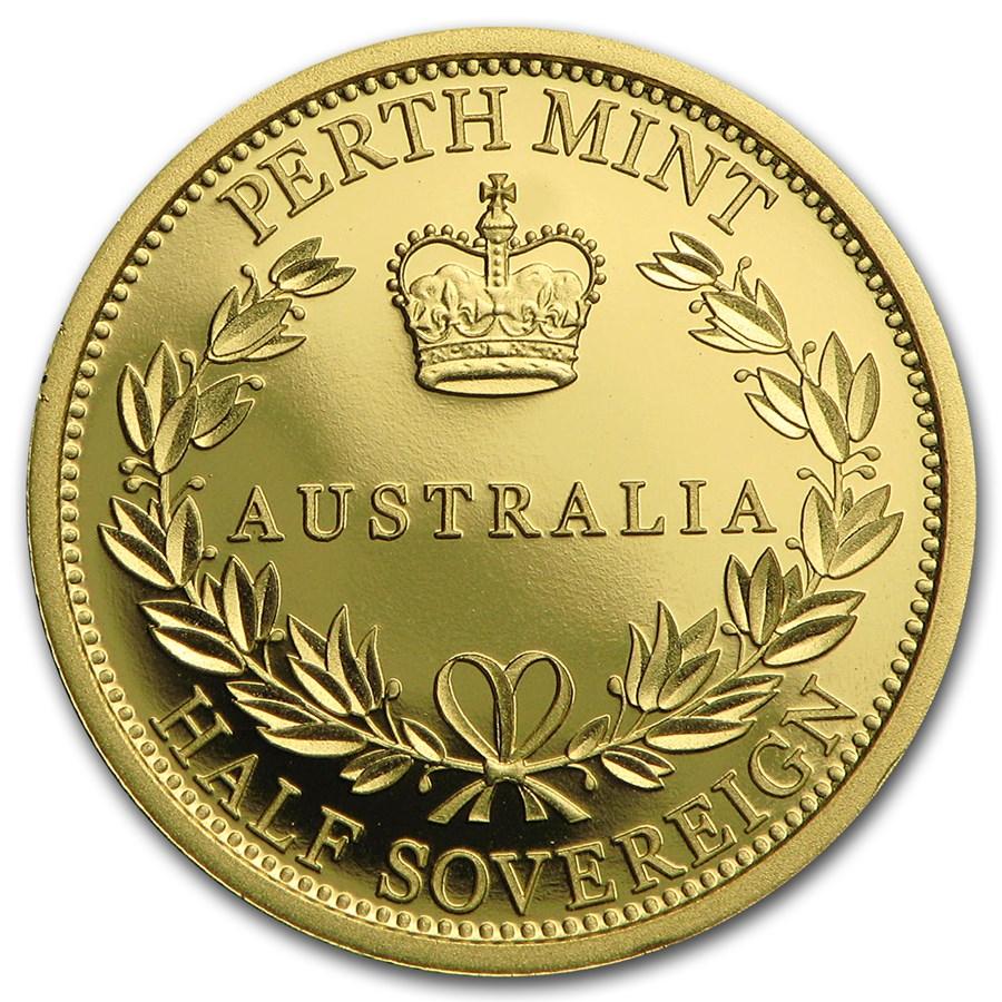 2016 Australia Gold Half Sovereign Proof