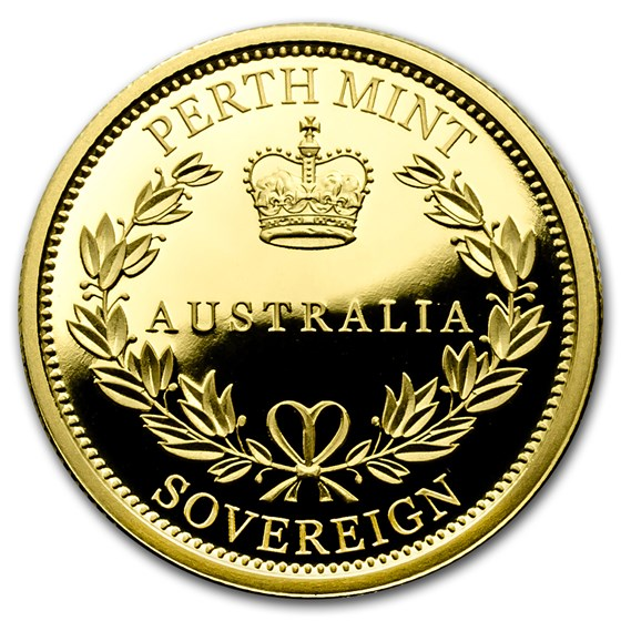 2016 Australia Gold Sovereign Proof