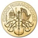 2016 Austria 1/2 oz Gold Philharmonic BU