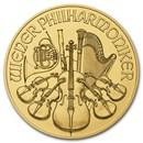 2016 Austria 1/4 oz Gold Philharmonic BU