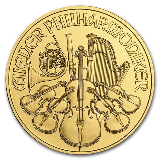 2016 Austria 1 oz Gold Philharmonic BU