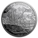 2016 Austria Proof Silver €10 Piece by Piece (Oberösterreich)