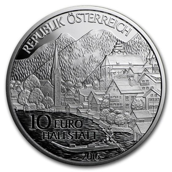 2016 Austria Proof Silver €10 Piece by Piece (Oberösterreich)