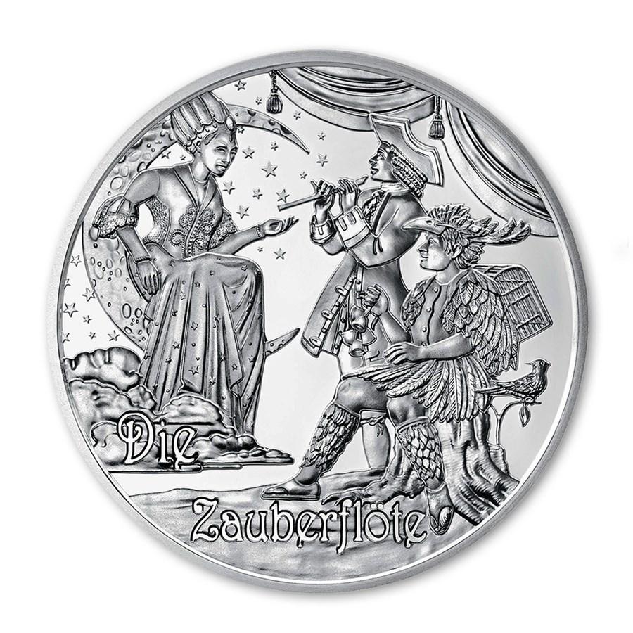2016 Austria Proof Silver €20 Mozart (The Legend)