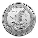 2016 Canada 1/2 oz Silver Bald Eagle BU