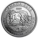 2016 Canada 1.25 oz Silver $8 Bison BU