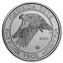2016 Canada 1.5 oz Silver $8 White Falcon BU
