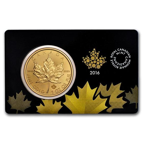 2016 Canada 1 oz Gold Canadian Maple Leaf (In Assay)