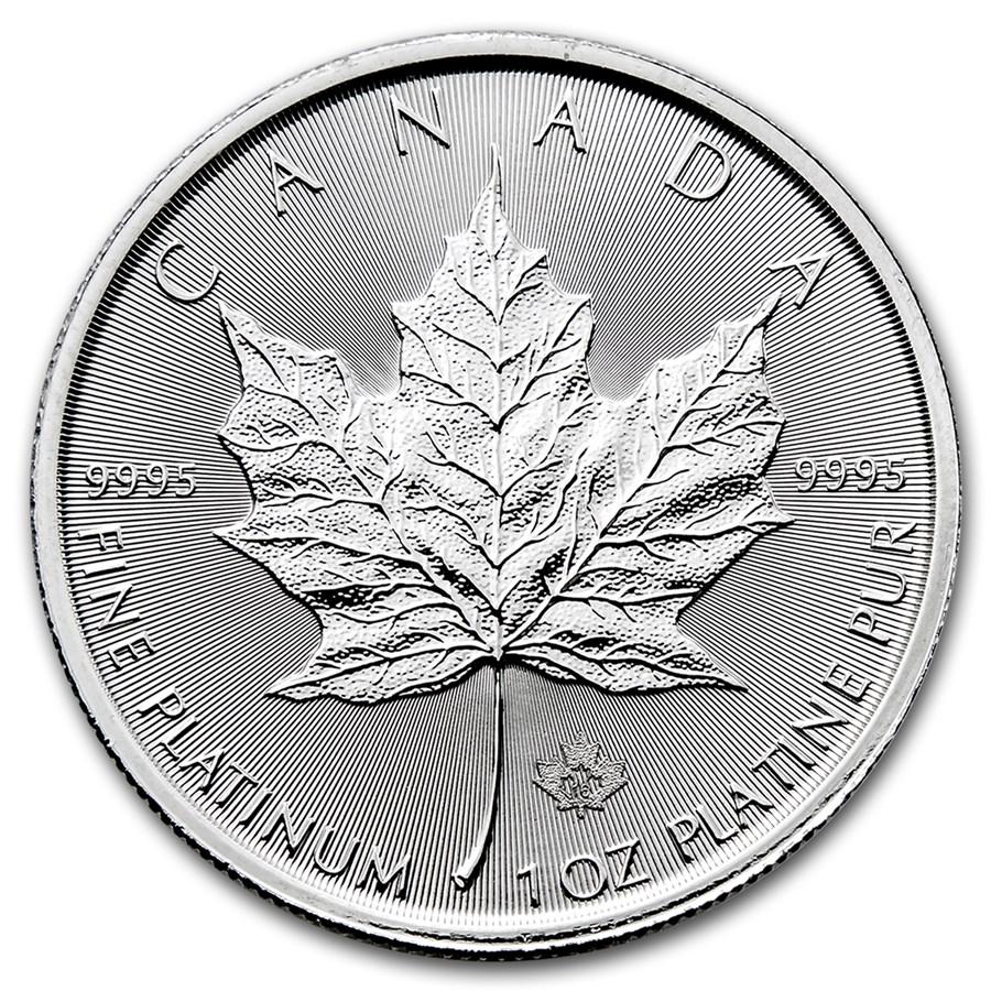 2016 Canada 1 oz Platinum Maple Leaf BU