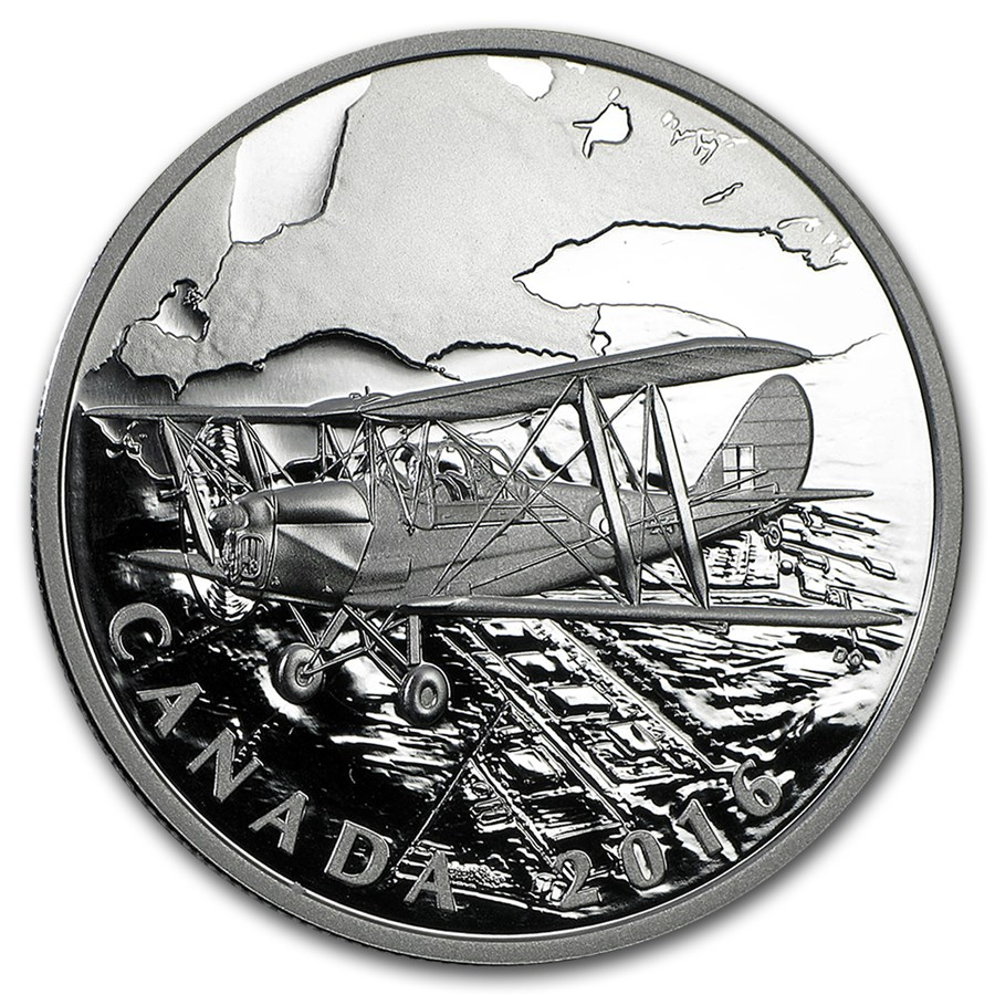 2016 Canada 1 oz Silver $20 Canadian Homefront: Air Training