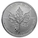 2016 Canada 1 oz Silver Maple Leaf Lunar Monkey Privy BU
