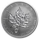 2016 Canada 1 oz Silver Maple Leaf Yin Yang Privy BU