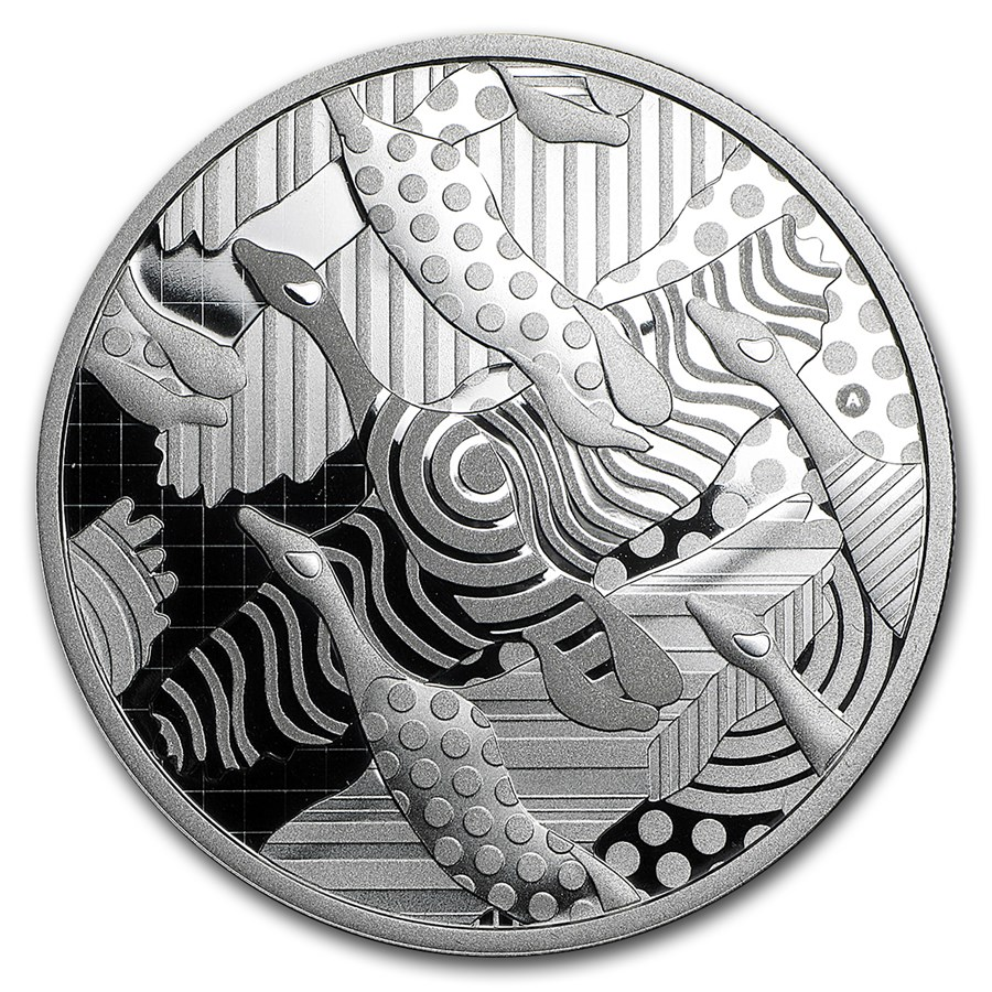 2016 Canada 2 oz Silver $30 Pop Art: Celebrating the Canada Goose