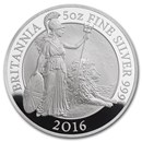 2016 Great Britain 5 oz Proof Silver Britannia