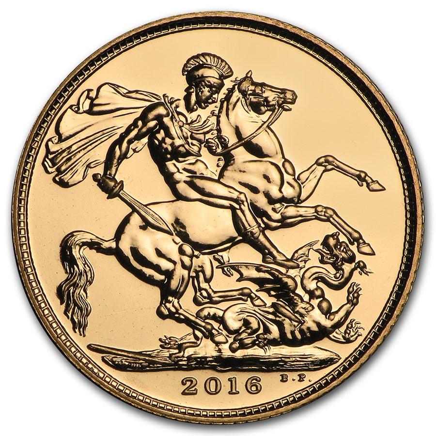 2016 Great Britain Gold Sovereign BU