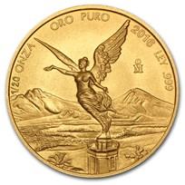 2016 Mexico 1/20 oz Gold Libertad BU