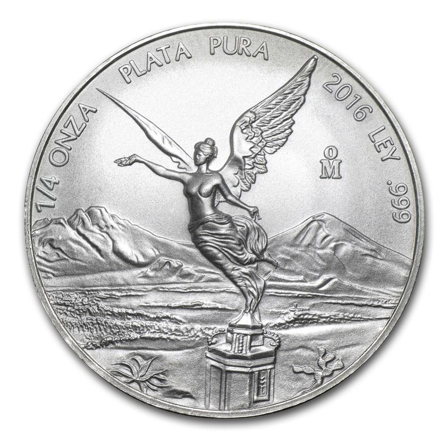 2016 1/20 oz Mexican Silver Libertad Coin | Bullion Exchanges