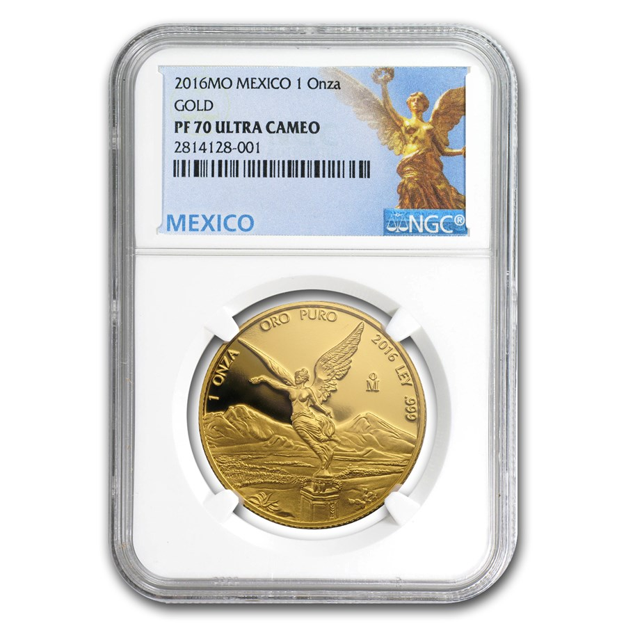 2016 Mexico 1 oz Gold Libertad PF-70 NGC