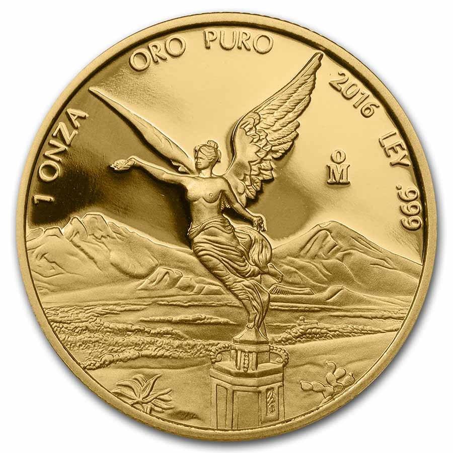 2016 Mexico 1 oz Proof Gold Libertad