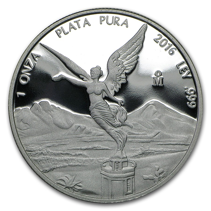 2016 Mexico 1 oz Silver Libertad Proof (In Capsule)