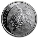 2016 Niue 1/2 oz Silver $1 Hawksbill Turtle BU