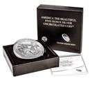 2016-P 5 oz Silver ATB Theodore Roosevelt (w/Box & COA)