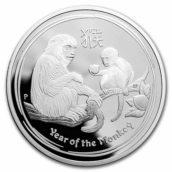 2016-P Australia 1 oz Silver Lunar Monkey Proof (Capsule Only)