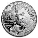 2016-P Mark Twain $1 Silver Commem Proof (w/Box & COA)