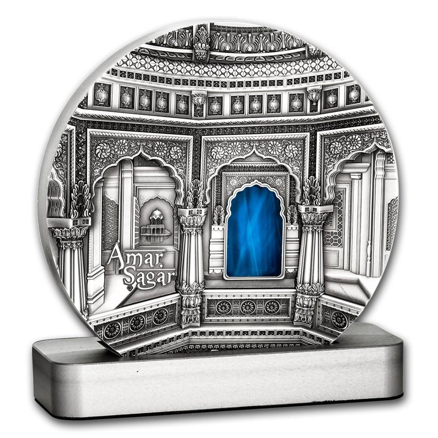 2016 Palau 1 kilo Silver $50 Tiffany Art Amar Sagar