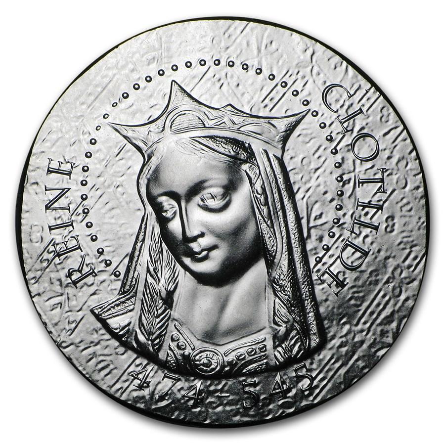 2016 Proof Silver €10 Women of France (Queen Clotilde)