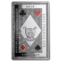 2016 Republic of Cameroon Royal Poker (King of Clubs)