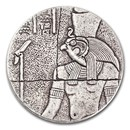 2016 Republic of Chad 2 oz Silver Horus