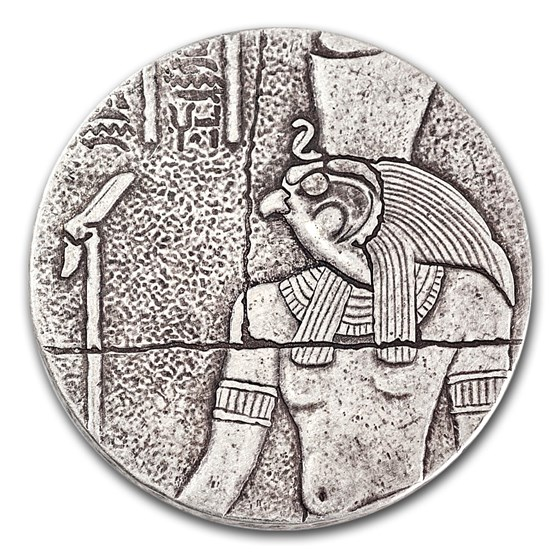2016 Republic of Chad 2 oz Silver Horus