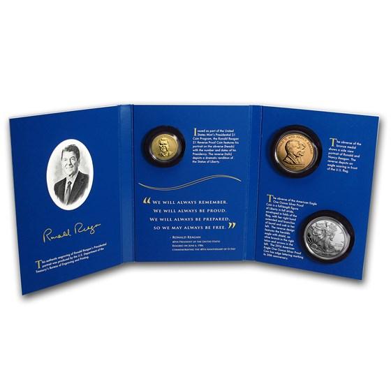 2016 Ronald Reagan Coin & Chronicles Set