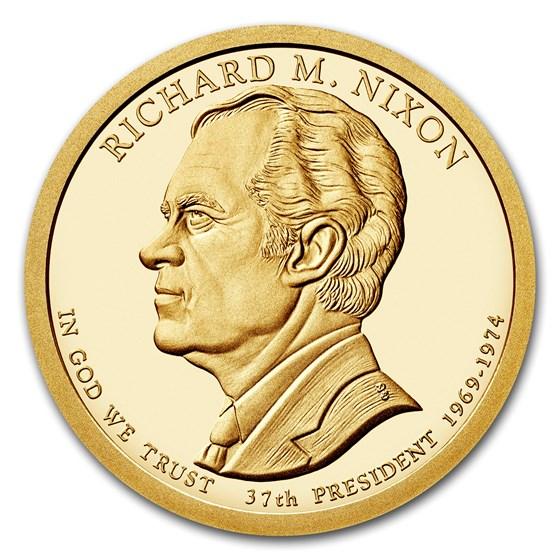 2016-S Richard Nixon Presidential Dollar Proof