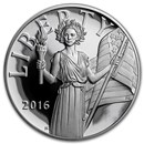 2016-S Silver American Liberty Medal Proof (w/Box & COA)