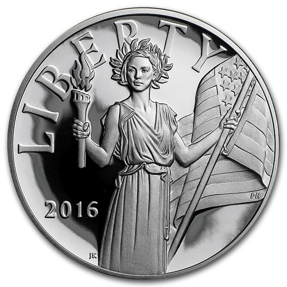 2016-S Silver American Liberty Medal Proof (w/Box & COA)