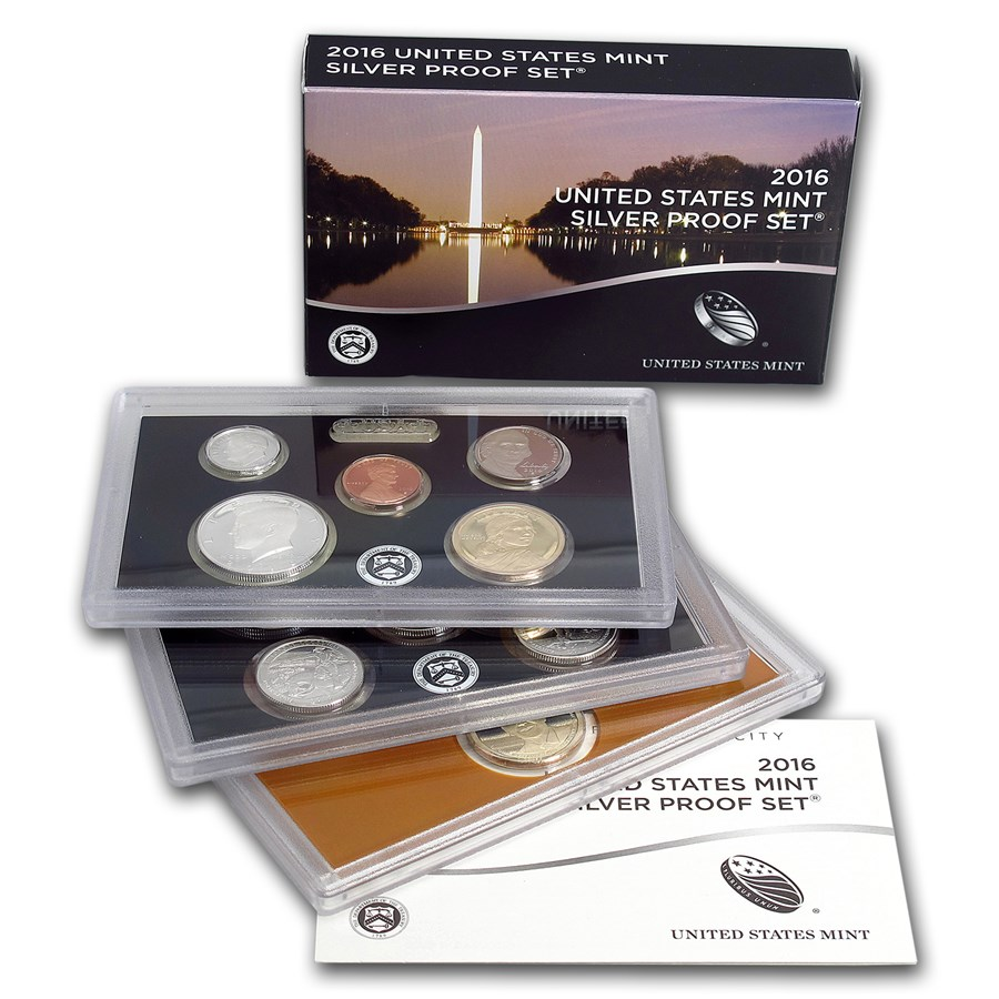 2016-S Silver Proof Set