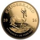2016 South Africa 1 oz Gold Krugerrand Proof