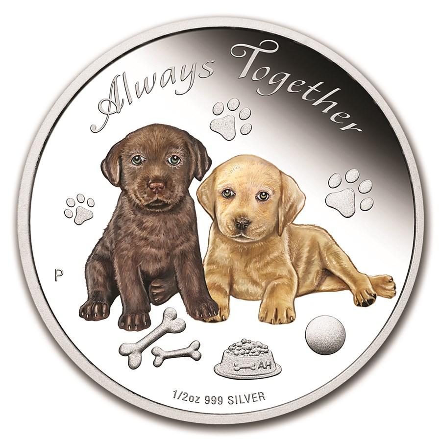 2016 Tuvalu 1/2 oz Silver Always Together Proof