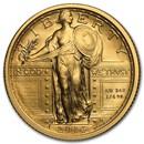 2016-W 1/4 oz Gold Standing Liberty Quarter Centennial (w/OGP)