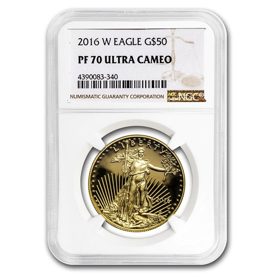 2016-W 1 oz Proof American Gold Eagle PF-70 NGC