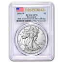 2016-W Burnished Silver American Eagle SP-70 PCGS (FirstStrike®)