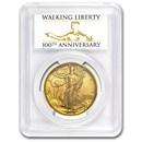 2016-W Gold Walking Liberty Half SP-70 PCGS (FS,Centennial Label)