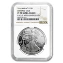 2016-W Proof American Silver Eagle PF-70 NGC