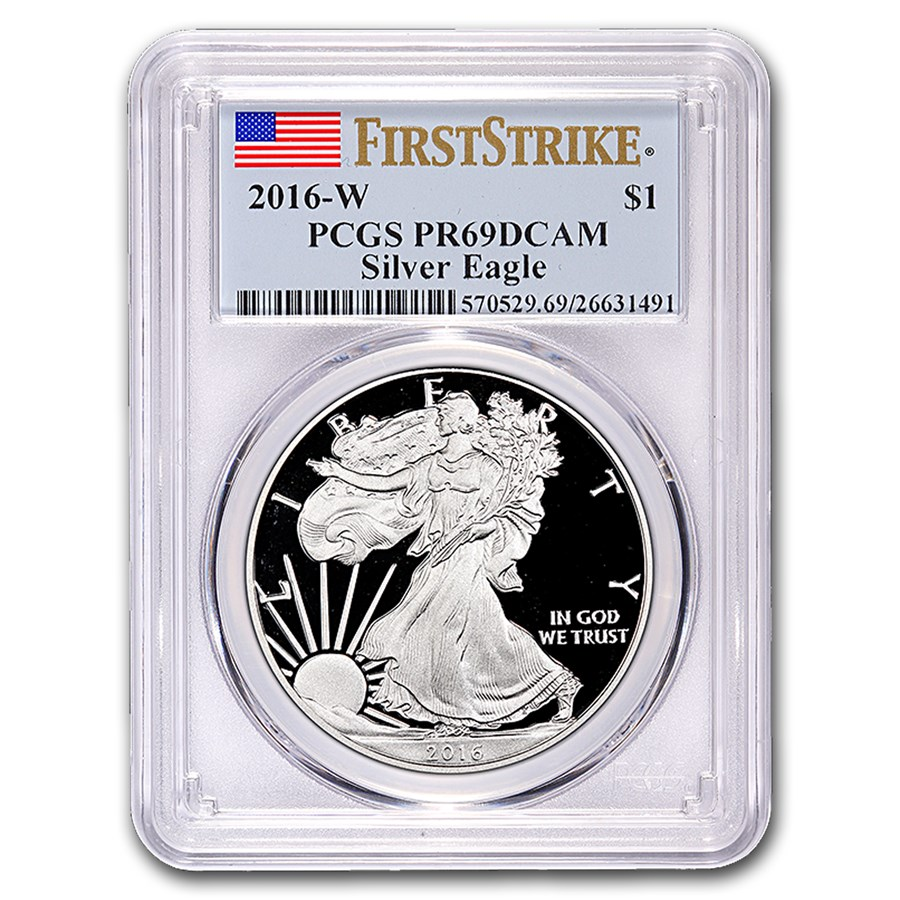 2016-W Proof American Silver Eagle PR-69 PCGS (FirstStrike®)