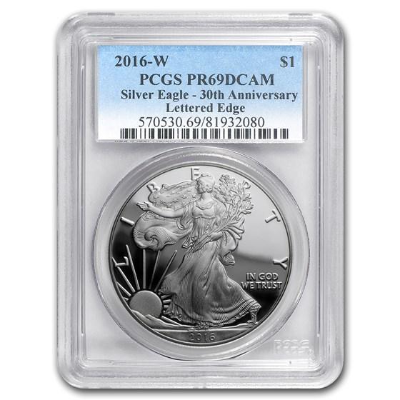 2016-W Proof American Silver Eagle PR-69 PCGS
