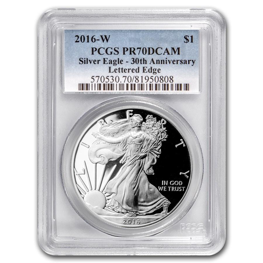 2016-W Proof American Silver Eagle PR-70 PCGS