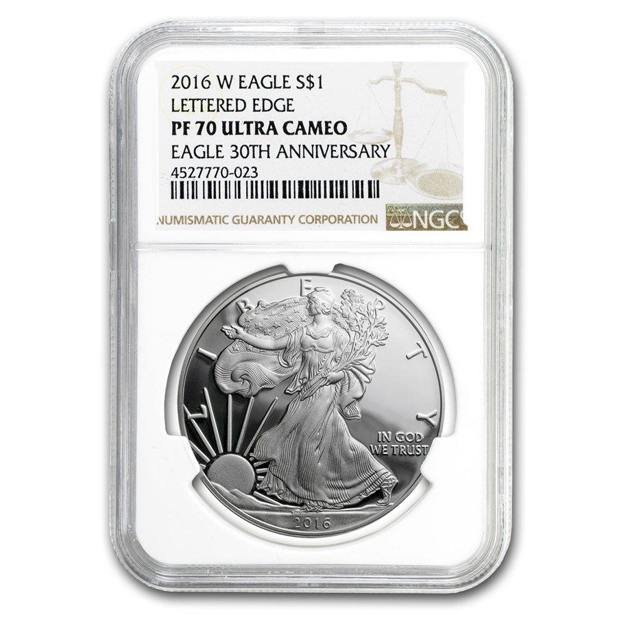 2016-W Proof Silver Eagle PF-70 NGC